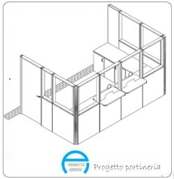 Progettazione arredi su misura progetto arredo for Progetto arredo