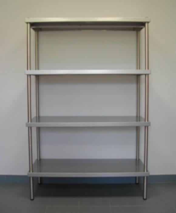 Scaffale acciaio inox progetto arredo for Progetto arredo